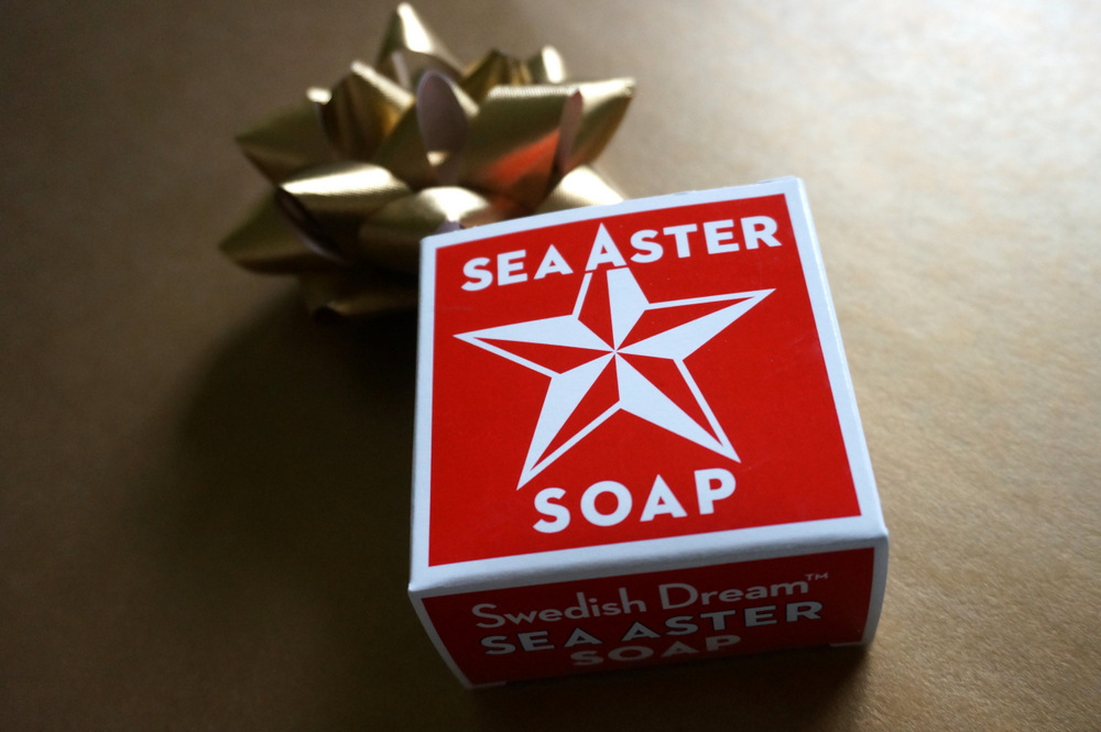 Festive scented soap
