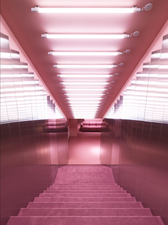 Normann Copenhagen's Gallery stairwell