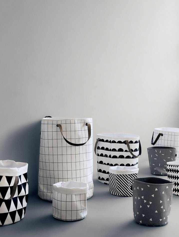 Storage baskets from ferm LIVING