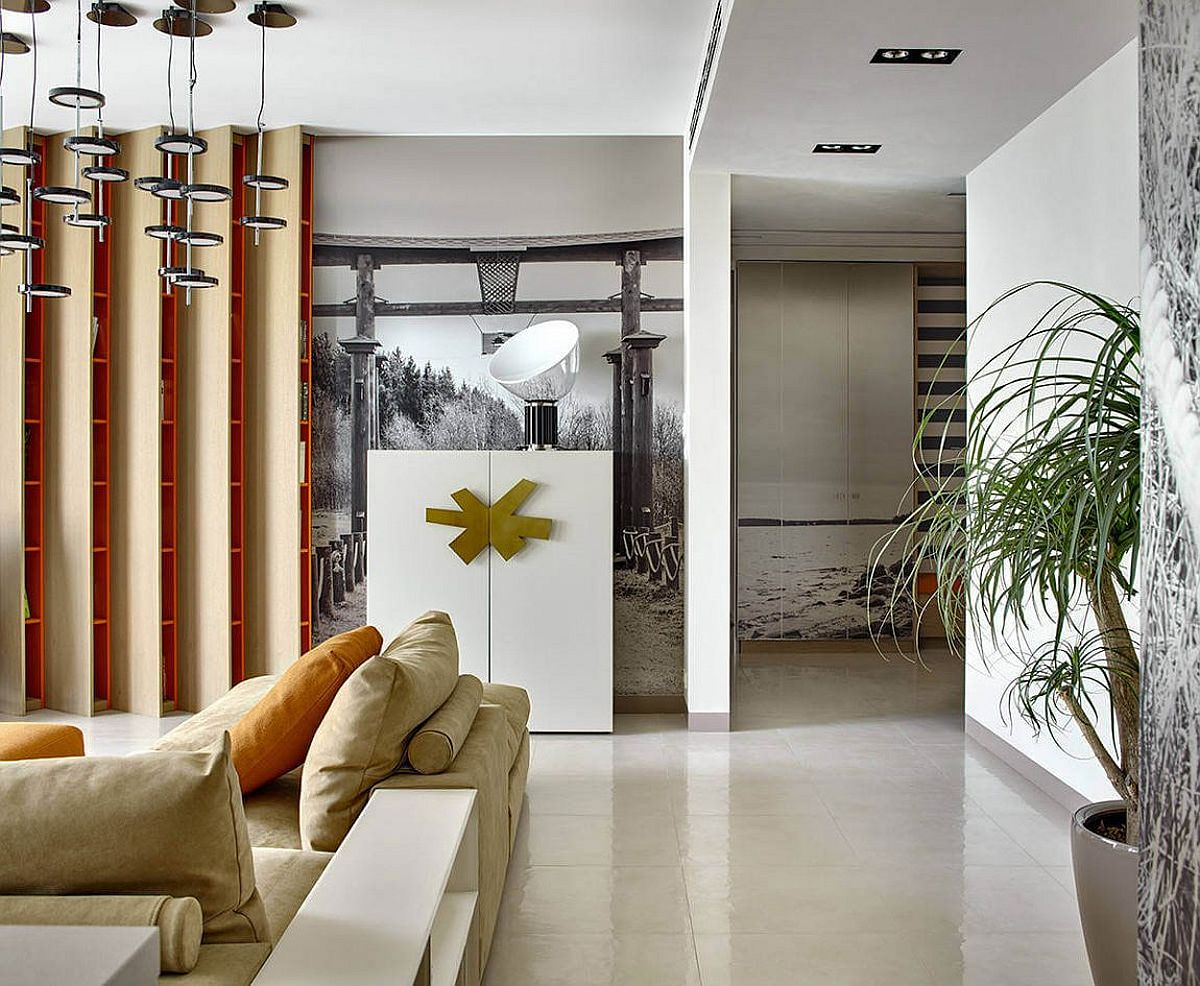 Eclectic and refined modern apartment in Moscow