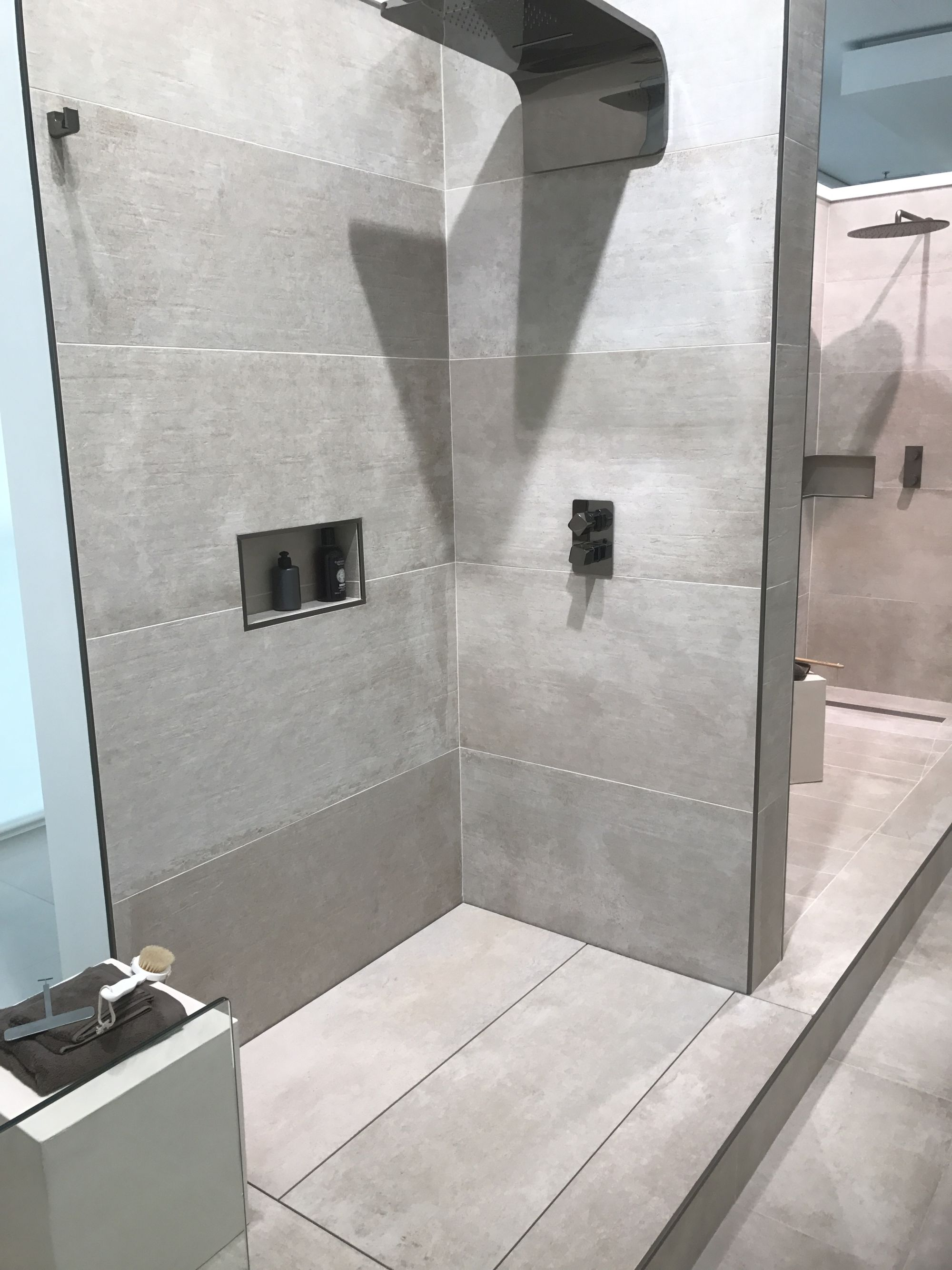 Shower systems with modern appliances – Butech