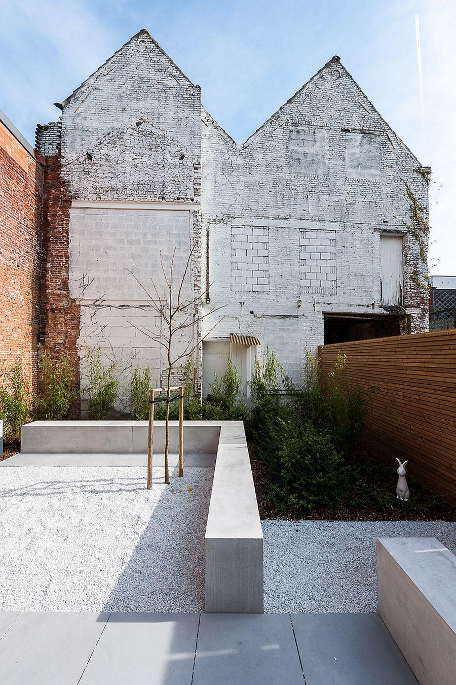 Old industrial building in Antwerp transformed into modern spa