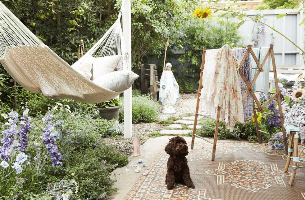 A safe and cozy bohemian hammock