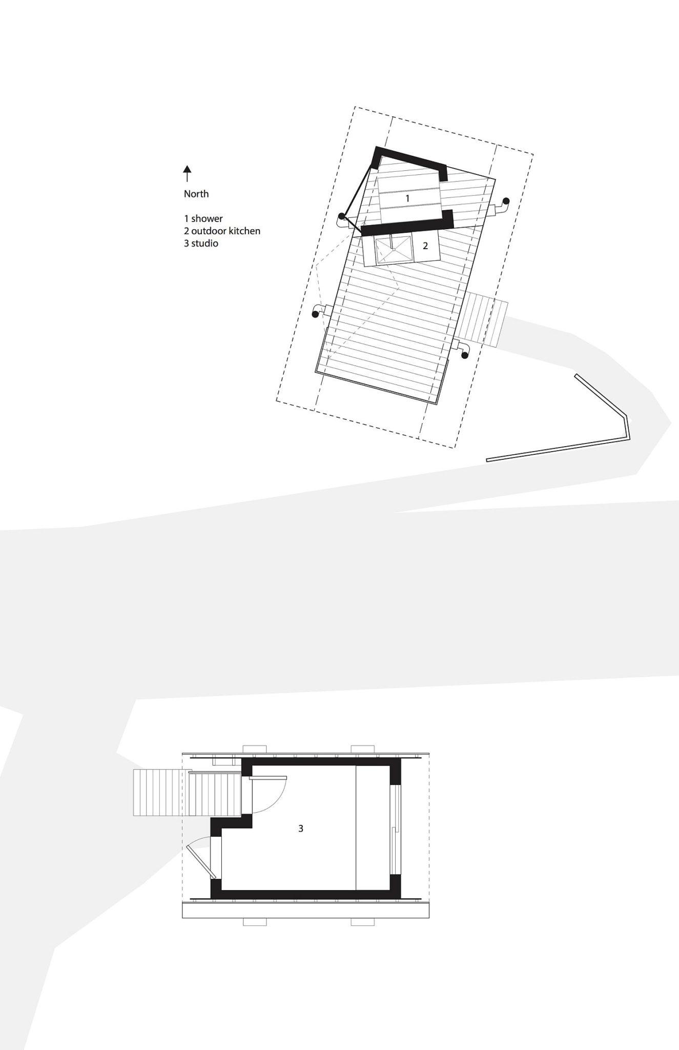 Floor plan of Outside House in Maui