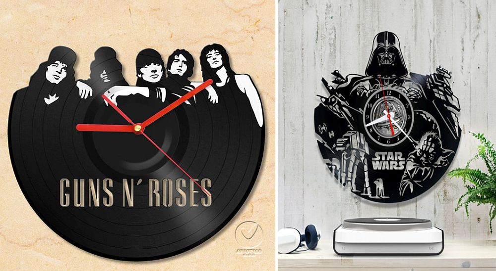 Show your fandom with a cool wall clock