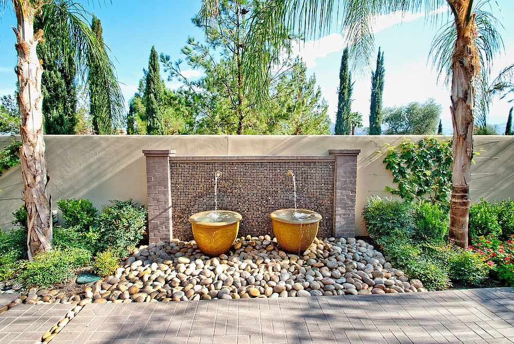 Pick a water feature that blends in with the landscape