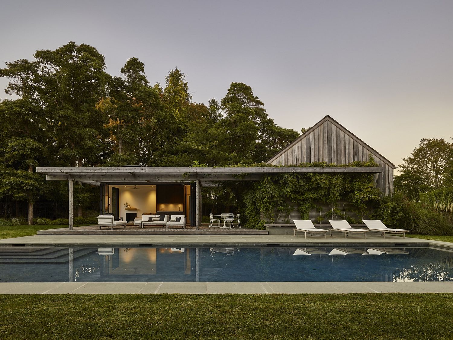 Beautiful and relaxing pool house in Amagansett, New York