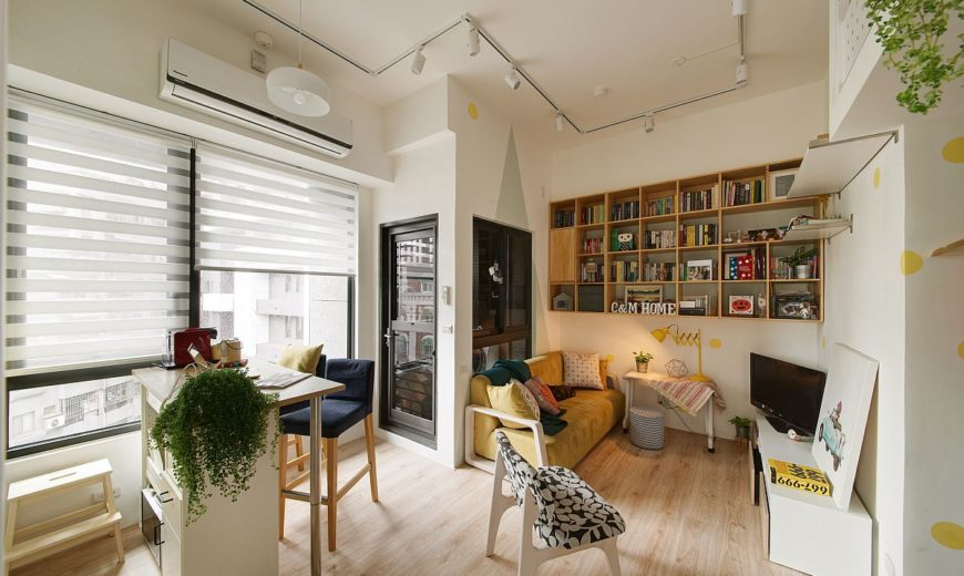 25 Tiny Apartment Dining Rooms that Save Space and Multitask!