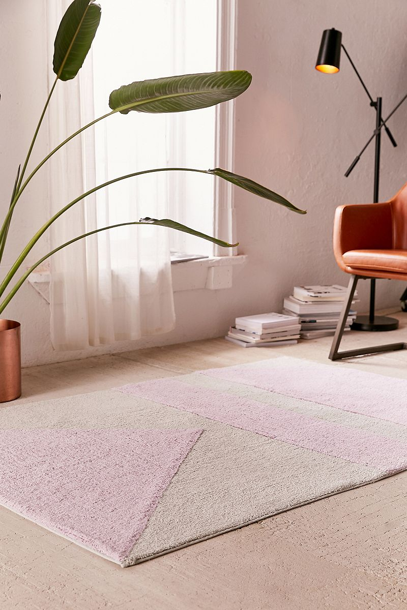 Max Geo Rug from Urban Outfitters