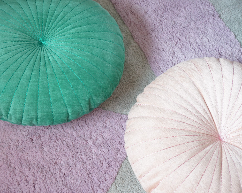 Shelly Round Pillows from Urban Outfitters