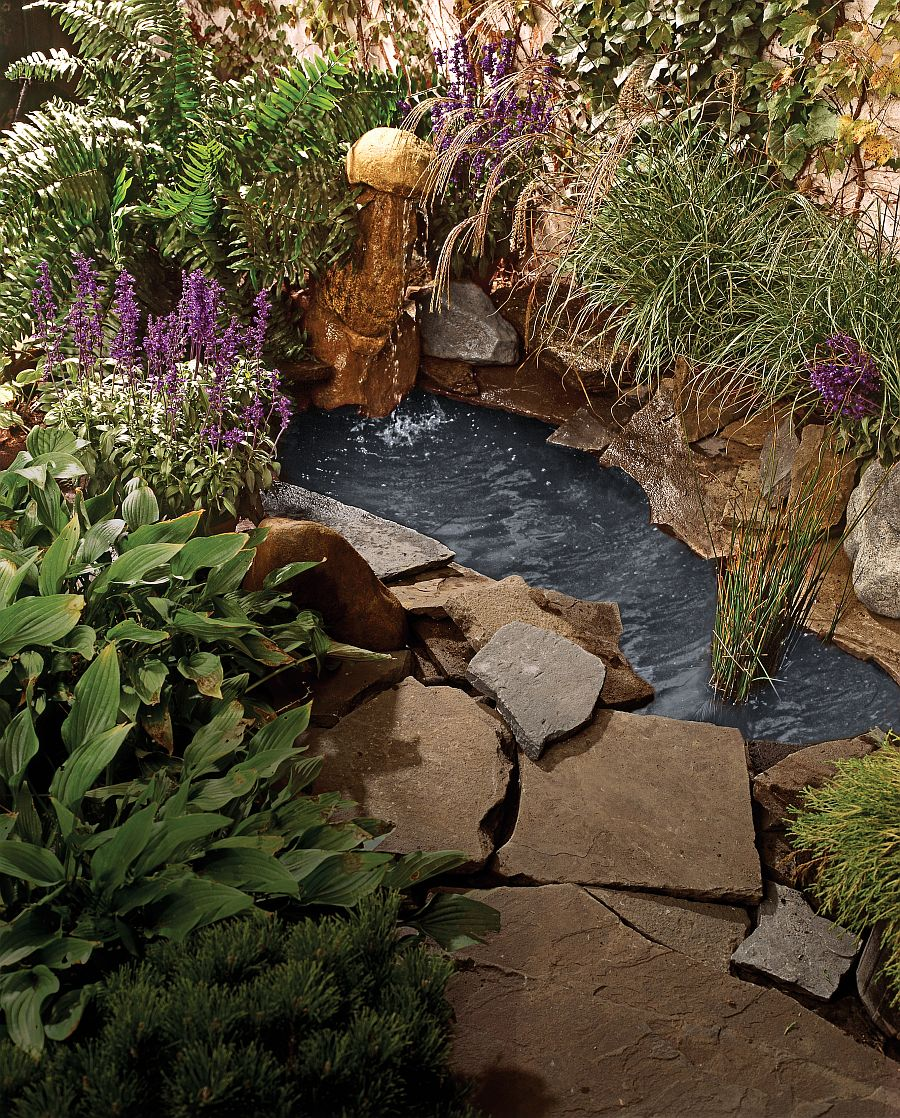 DIY natural pond from This Old House is perfect for attracting fauna