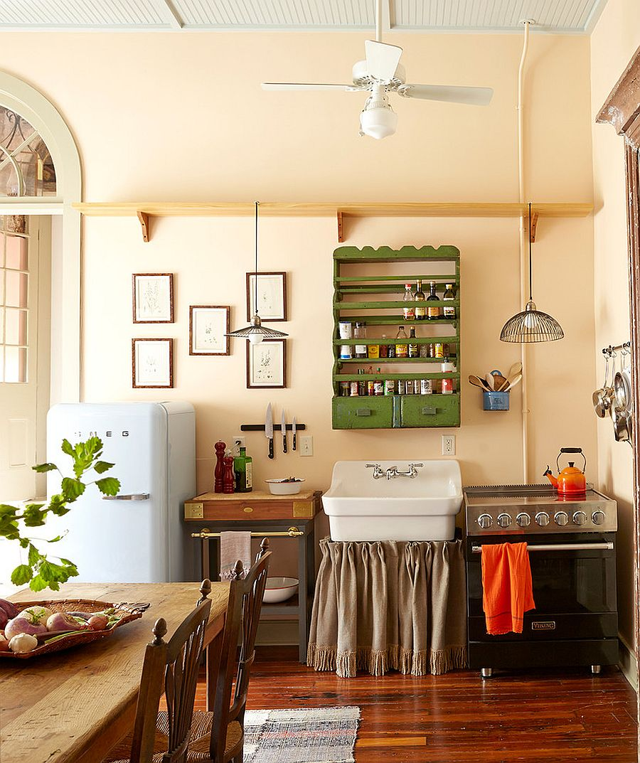 Modern shabby chic kitchens feel both inviting and unique with a personality of their own