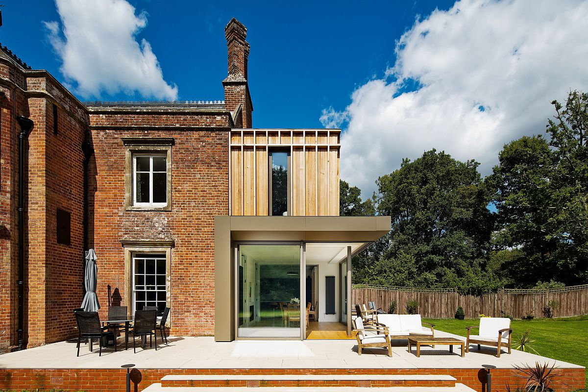 Modern makeover to classic Gatti House in UK