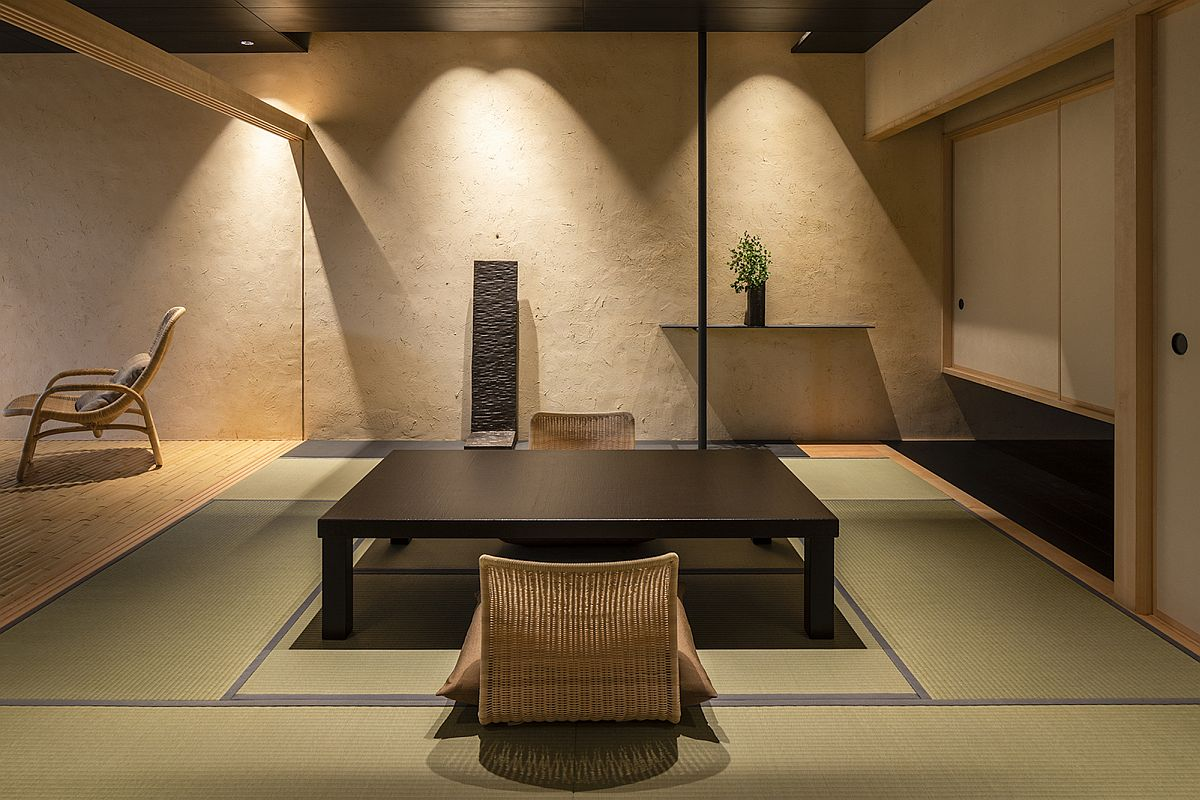 Relaxing and innovative interior of the Japanese home aimed to revitalize your mind and body