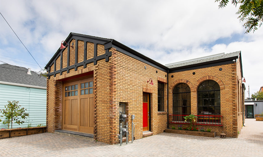 The Magnolia Firehouse: A Residential Adaptive Reuse Project
