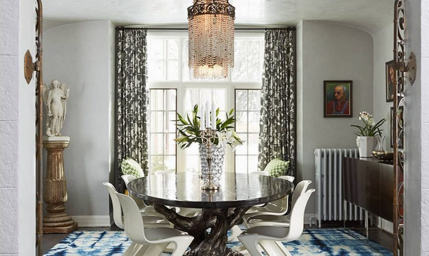 Festive Shopping: 15 Colorful Dining Room Rugs that Make a Difference