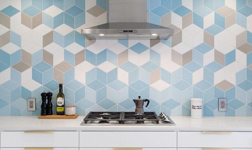 25 Stunning New Kitchen Basksplash Ideas: Marble, Lively and Glassy!