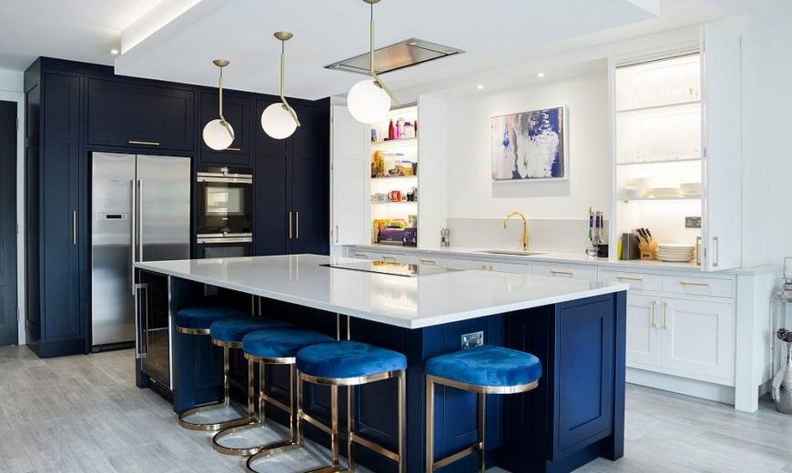 Best Kitchens in Classic Blue: Try Out the Trendiest Color in Many Tones!