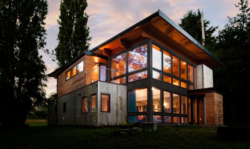 Seattle-Area Architectural Firm Designs One-Of-A-Kind Container Home For Musician