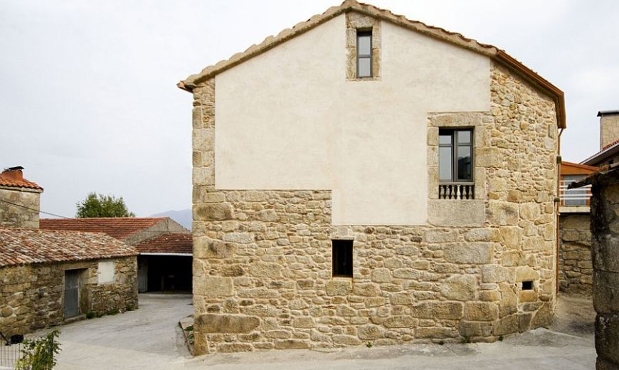 Renovated Stone House in Spain Fluidly Blends the Old with the New