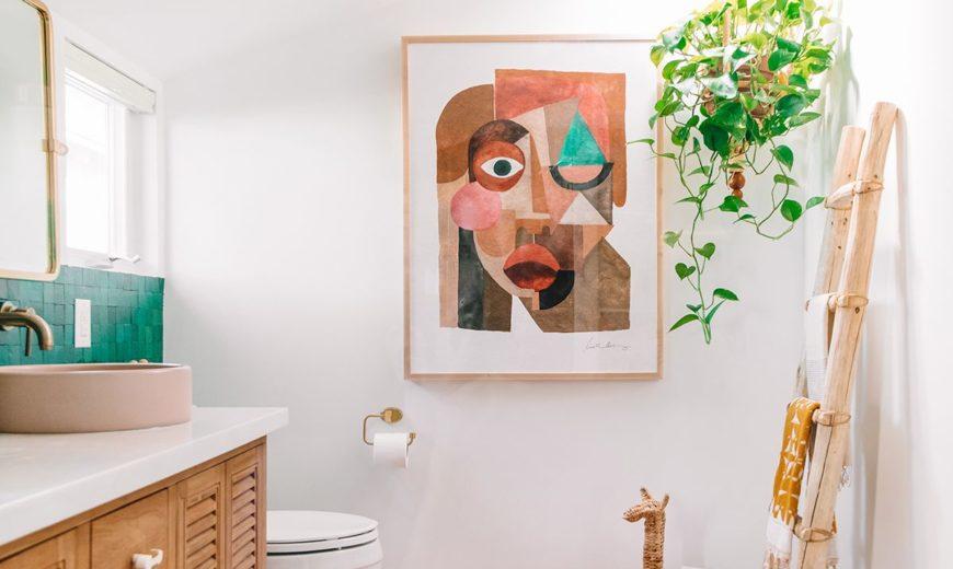 Bathroom Wall Art Ideas for a Serene Space