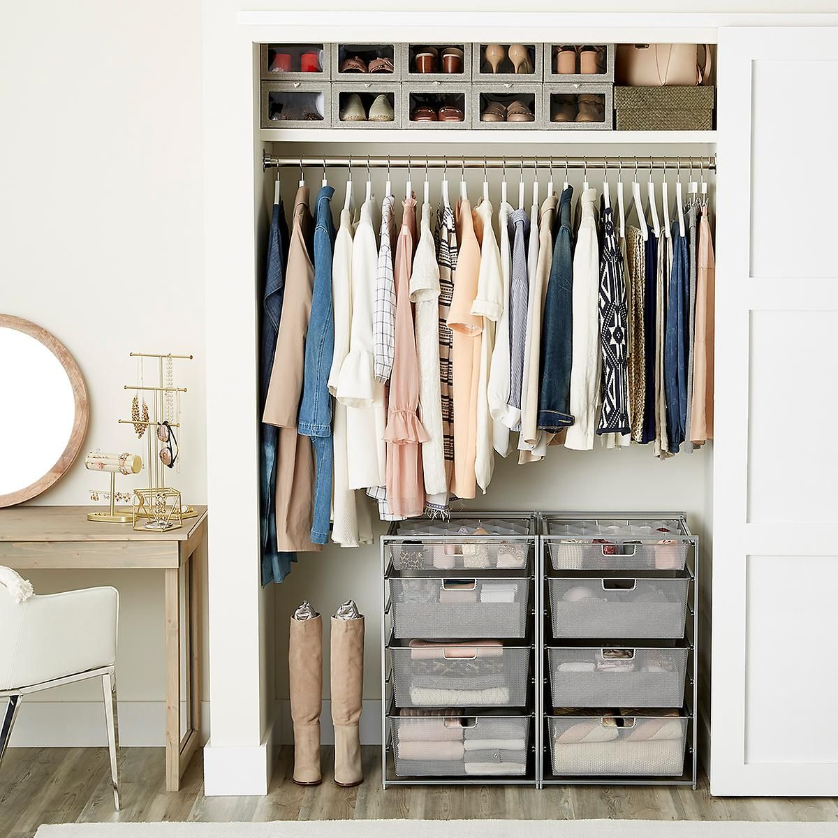 20 Small Apartment Closet Ideas that Save Space with Innovative Design