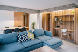 Watch How a Custom Wooden Rack Transforms This Tiny Spanish Apartment!