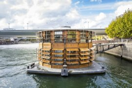 Exclusive Psychiatric Hospital on a River in Paris Wows with Novel Design