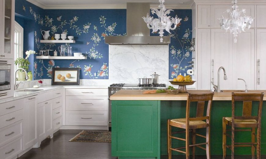 How to Add Floral Pattern to Your Kitchen: Easy Ways to Enliven the Space